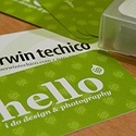Sherwin Techico - Personal Business Card