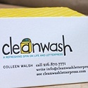 Clean Wash Letterpress