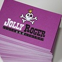 Jolly Roger Comic Style Card