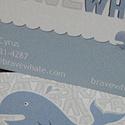 Brave Whale Custom Card
