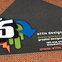 Attis Design Business Card
