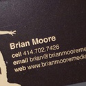 Brian Moore Creative Business Card