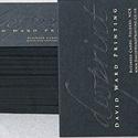Black Debossed Card