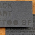 Black On Black Letterpress