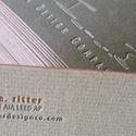 Keira A Ritter - Letterpress Card