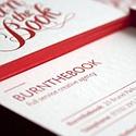 Red Letterpress Cards