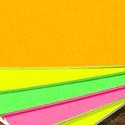 Bright Color Letterpress Cards