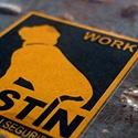 Work Mastin Business Card