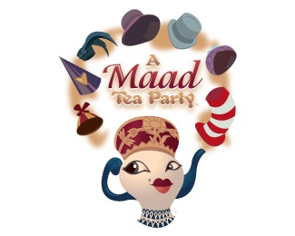 A Maad Tea Party logo