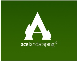 Ace Landscaping logo