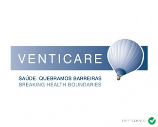 air,balloon,health logo