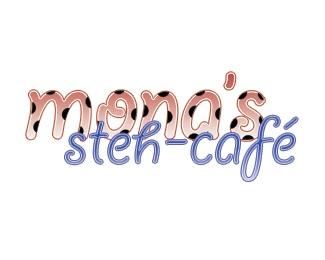 mona,ladybug cafe café logo