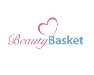 basket,blue,pink,beauty,care logo