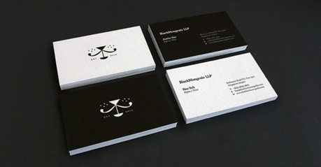 The Black Mongrels business card