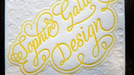 Sophie Gallo business card
