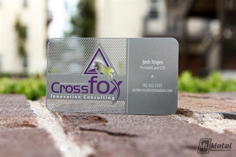 Stainless Steel Card business card