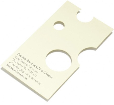 Swiss Cheese business card