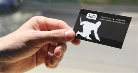 SEO Ninjas business card