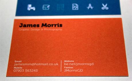 Self Identity Design business card