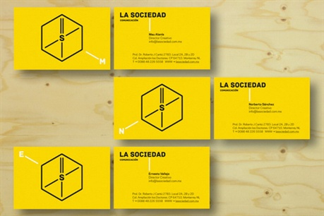 Bright Yellow Design business card