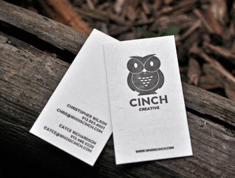 Cinch Creative Card business card