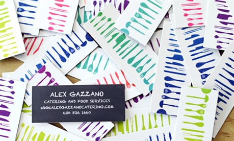 Colorful Business Cards business card