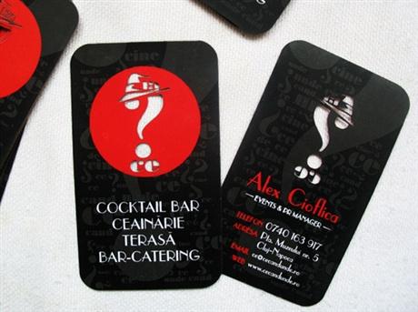 Cocktail Bar Business Card business card