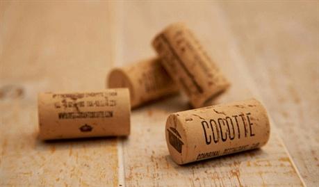 Cork Bottle Identity business card