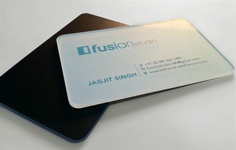 plastic,round corner,acrylic business card