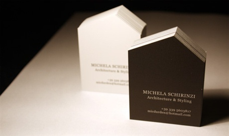 Architect Business Card business card