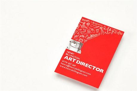 Art Director Business Card business card