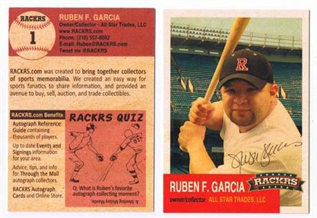 Baseball Business Card business card