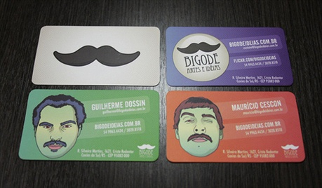 Bigode Ideias business card