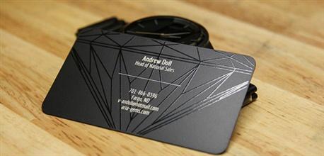 Black Metal Design business card
