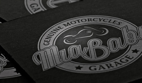 Motorcycle Business Card business card