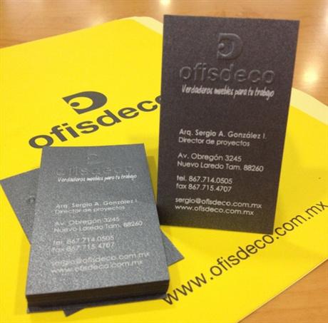 Ofisdeco Business Card business card
