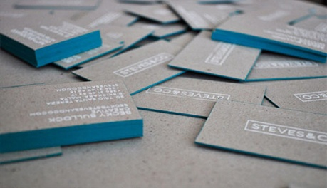 Recycled Business Card business card