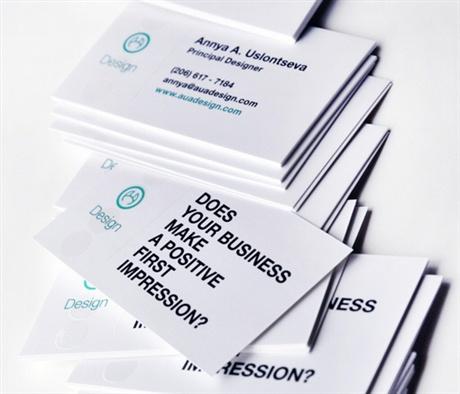 Designer Business Card business card