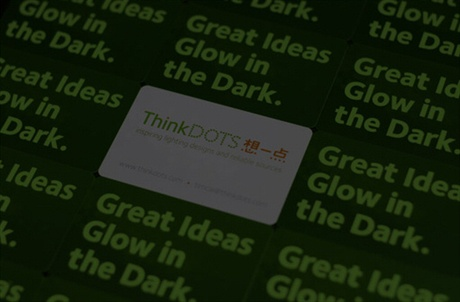 Glow In The Dark Cards business card