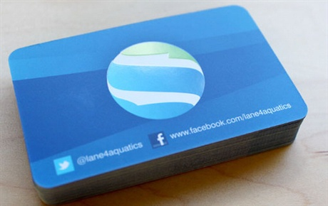 Lane 4 Aquatics business card