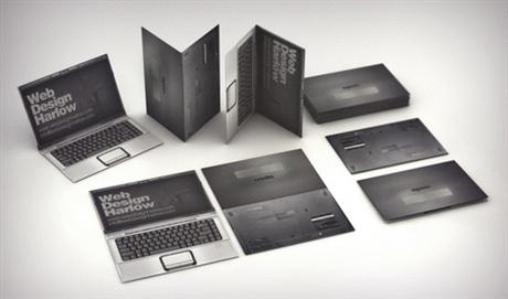Laptop Business Card business card