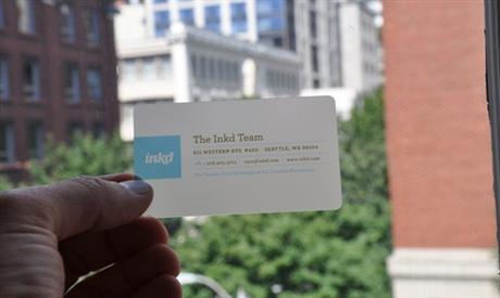Inkd Business Card business card