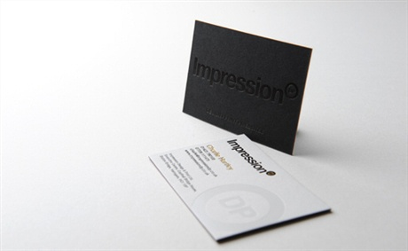Impression DP business card
