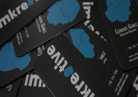 Imkreative Card Design business card