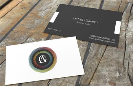 Makeup Artist Business Card business card