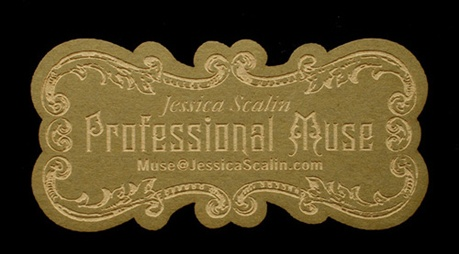 Magical Laser Cut Card business card