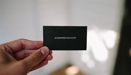Mammoth Reach Cards business card