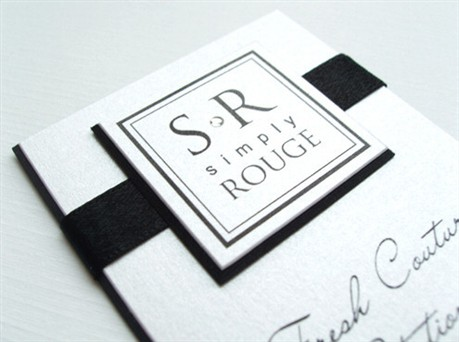 Simply Rouge Card business card