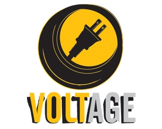 church,yellow,electric,youth,voltage logo