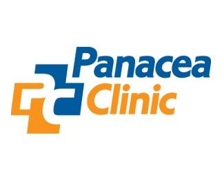 blue,orange,cross,clinic,medical logo